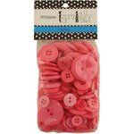 Playful In Pink - Laura Kelly 5.5oz Assorted Buttons