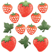 Strawberry Fields - Button Theme Pack