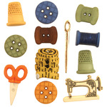 Sewing - Button Theme Pack