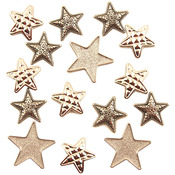 Silver Stars - Button Theme Pack