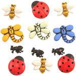Garden Bugs - Button Theme Pack