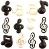 Music Notes - Button Theme Pack Buttons Galore-Button Theme Pack. These embellishments provide the perfect finishing touch on any arts & craft creation. Great for sewing, quilting, scrapbooks, jewelry, mixed media and home decor projects. Theme categories range from pets, baby, Victorian, sports and many more (each theme sold separately). Be inspired by the consistent shapes and colors and let your imagination run wild! This 3-1/2x3 inch package contains an assortment of buttons in different colors, sizes and designs. Comes in a variety of assorted colors. Each sold separately. WARNING: Choking Hazard- small parts. Not for children under 3 years of ages. Imported.