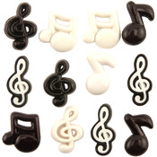 Music Notes - Button Theme Pack