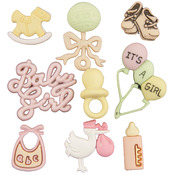 Baby Girl - Button Theme Pack