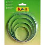 Round - Makin's Clay Cutters 4/Pkg