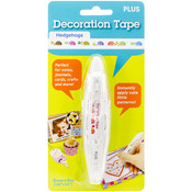 Hedgehogs - Decoration Tape Pen