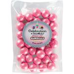 Shimmer (TM) Hot Pink - Gumballs Stand-Up Bag 14oz