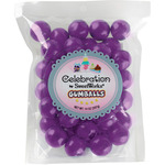 Purple - Gumballs Stand-Up Bag 14oz