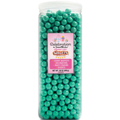 Shimmer (TM) Turquoise - Sixlets (R) Candy Jar 30oz