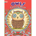 Creative Haven Owls - Dover Publications