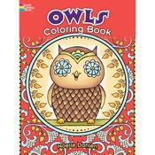 Creative Haven Owls - Dover Publications