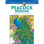 Dover Publications - Creative Haven Peacock Designs