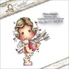 """You Are My Valentine Tilda - Lovely Duo's Cling Stamp 6.5""""X4"""" Package"""