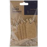 Gift - Papermania Bare Basics Cork Tags 6/Pkg