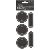 Dotty Frames - Chalk Craft Chalkboard Stickers