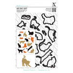 Mixed Cats - Xcut A5 Die Set 16/Pkg