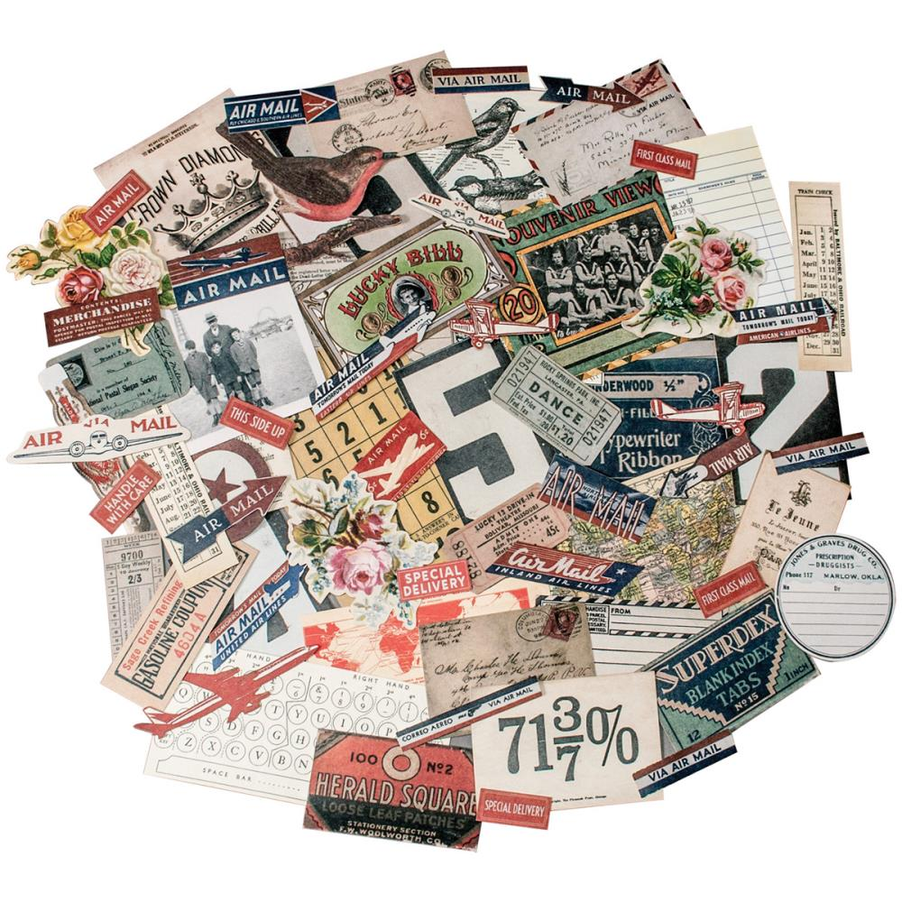 Idea - Ology Ephemera Pack - Tim Holtz