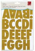 Metallic Gold Vinyl Type Stickers - Cosmo Cricket