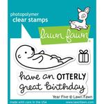Year Five Clear Stamps - Lawn Fawn