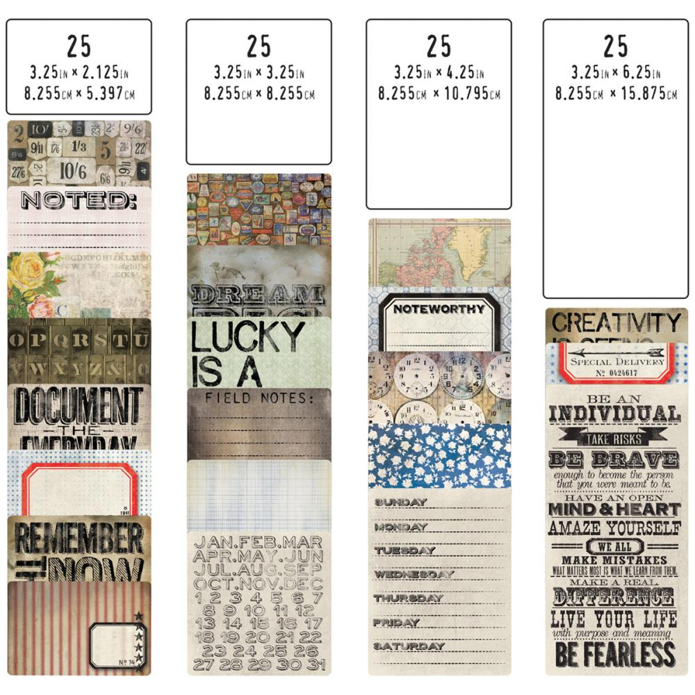 Idea - Ology Pocket Cards - Tim Holtz