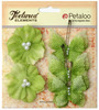 Pistachio Butterflies & Blossoms Textured Elements - Petaloo