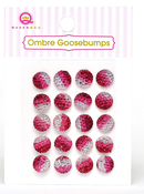 Red Ombre Goosebumps - Queen & Co