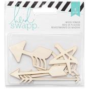 Wanderlust Wood Veneer Shapes - Heidi Swapp