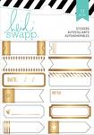 Gold Foil Label Stickers - Heidi Swapp