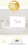 Thank You Card & Envelopes - Heidi Swapp
