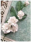 Color Lab White Inkable Rose Vine - Marion Smith