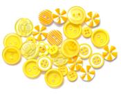 Yellow Button Bouquet - Queen & Co
