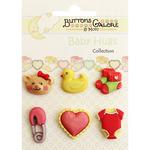 Sweet Baby Girl - Baby Hugs Buttons