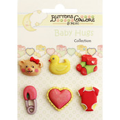 Sweet Baby Girl - Baby Hugs Buttons