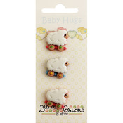 Sheep - Baby Hugs Buttons