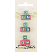 Baby Blocks - Baby Hugs Buttons