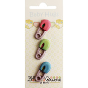 Diaper Pins - Baby Hugs Buttons