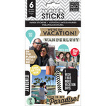 We Are On Vacation Paper Stickers - Pocket Pages - Me & My Big Ideas