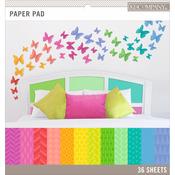 "Basics 12""X12"" Paper Pad 36/Pkg - Brights, 12 Designs/3 Each"