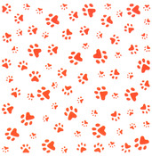 "Marianne Design Embossing Folder 5""X5""-Paws Background"