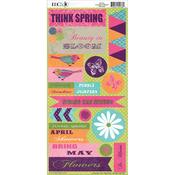 Springtime Cardstock Stickers
