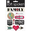 Soft Spoken Themed Embellishments - Family - So Much Love