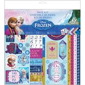 """Disney Frozen Page Kit 12""""X12"""""""