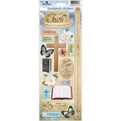 Live By Faith - Paper House Cardstock Stickers