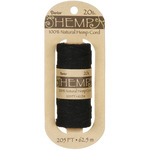 Hemp Spool 20lb 205'-Black