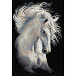 """11.75""""X17.75"""" 14 Count - Andalusian Character Counted Cross Stitch Kit"""