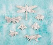 Bugs Resin Shabby Chic Treasures - Prima
