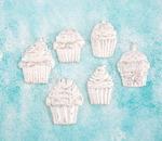 Cupcakes Resin Shabby Chic Treasures - Prima