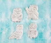 Owls Resin Shabby Chic Treasures - Prima