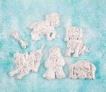 Puppies Resin Shabby Chic Treasures - Prima