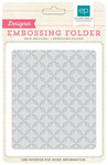 Quilted Star Embossing Folder - Echo Park
